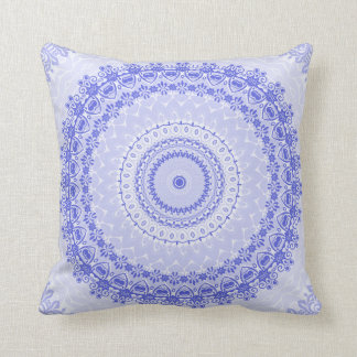 China Blue Mandala Kaleidoscope Cushion