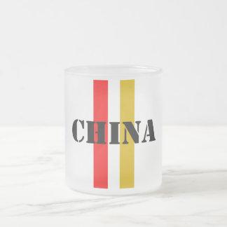 China Frosted Glass Coffee Mug