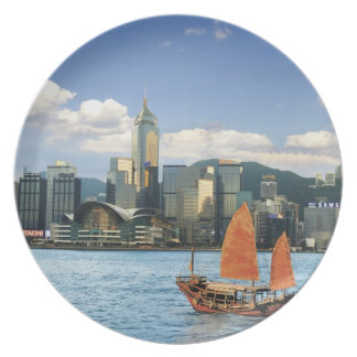 China; Hong Kong; Victoria Harbour; Harbor; A Dinner Plates