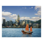China; Hong Kong; Victoria Harbour; Harbour; A Poster