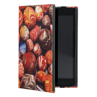 China, Ming Tombs, Painted Glass Souvenirs Case For iPad Mini