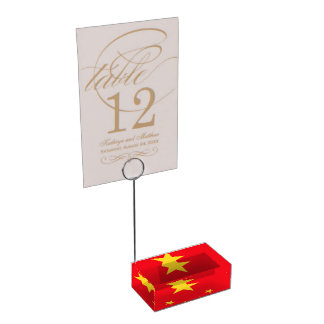 China Table Card Holder