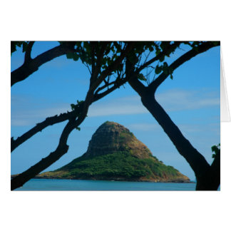 Chinaman's Hat, Oahu Card