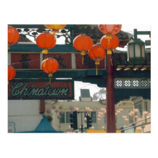 Chinatown- Los Angeles Postcard