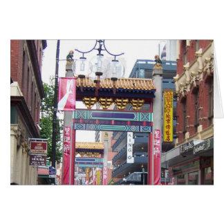 Chinatown - Melbourne, Australia Card