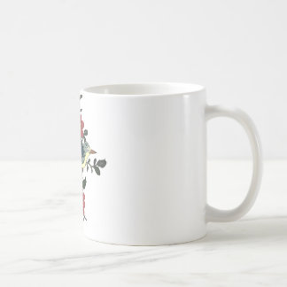 Chinese Bird and Flower Coffee Mug