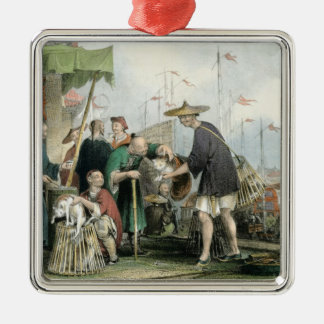 Chinese Cat Merchants, from 'China in a Series of Christmas Ornament