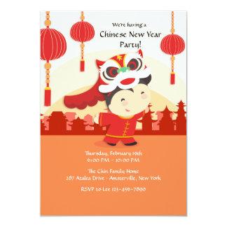 Chinese Celebration Invitation