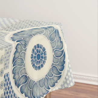 Chinese circle pattern table cloth