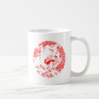 Chinese Crane Coffee Mug
