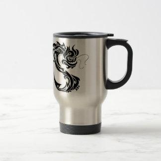 Chinese Dragon Stainless Steel Travel Mug