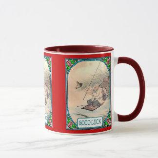 Chinese fisherman mug