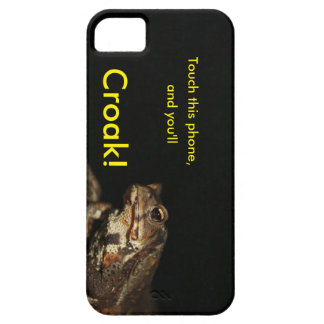 Chinese Frog Touch this Phone and You'll Croak! iPhone 5 Covers