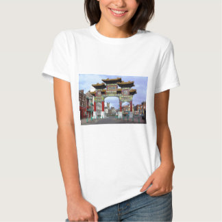 Chinese Imperial Arch, Liverpool UK T Shirts