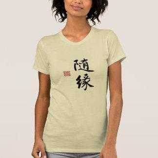 Chinese Ink Calligraphy of Suiyuan Tshirt