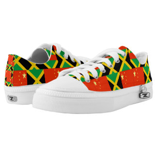 CHINESE-JAMAICAN LOW TOPS