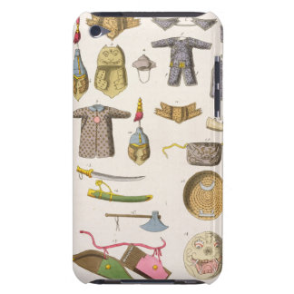 Chinese military arms and apparel, illustration fr iPod touch case