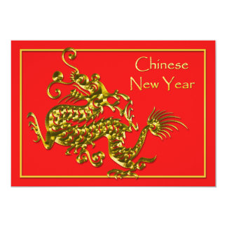 Chinese New Year Dragon Card