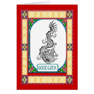 Chinese New year, dragon Card