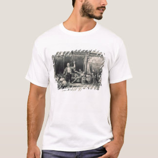 Chinese Opium Smokers, from 'China in a Series of T-Shirt