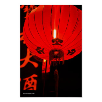 Chinese Red Lantern Posters