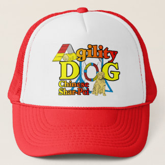 Chinese Shar-Pei Agility Gifts Trucker Hat