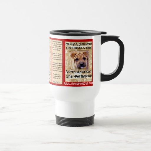 Chinese Shar-pei Rescue  Commuter Mug