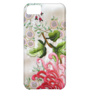 Chinese Silk Embroidery Case For iPhone 5C