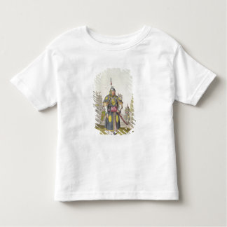 Chinese soldier in full battle dress, illustration toddler T-Shirt