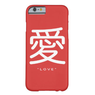 Chinese Symbol for Love Word Art iPhone 6 case Barely There iPhone 6 Case