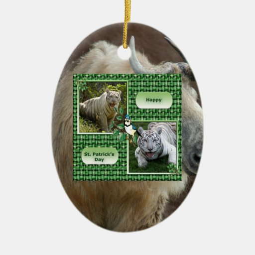 Chinese Takin Christmas Ornament