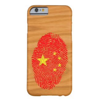 Chinese touch fingerprint flag barely there iPhone 6 case