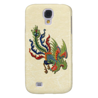 Chinese Wealthy Peacock Too Galaxy S4 Case