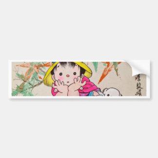 Chinestyle Kid Bumper Sticker