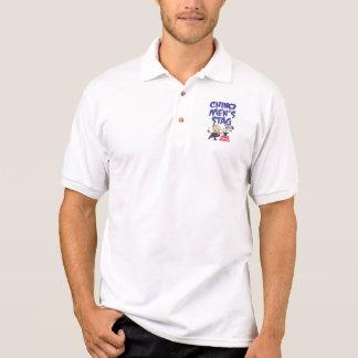 Chino Men's Stag golf shirt