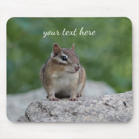 Chipmunk Mouse Pad