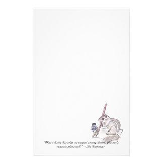 Chipmunk's Letter Stationery