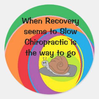 Chiropractic Snail sticker