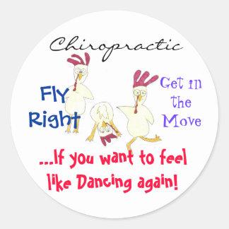 Chiropractic Sticker Sticker