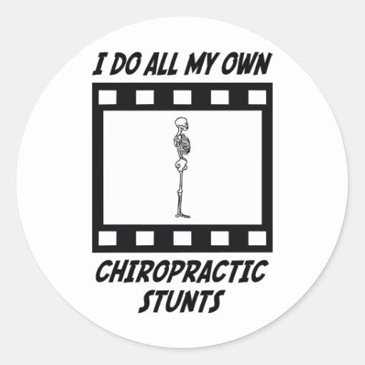 Chiropractic Stunts Sticker