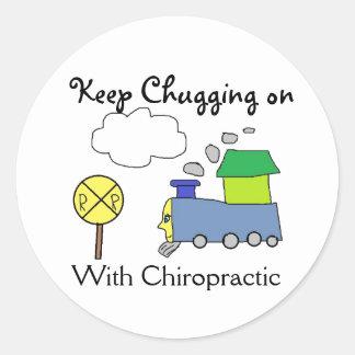 Chiropractic Train Stickers