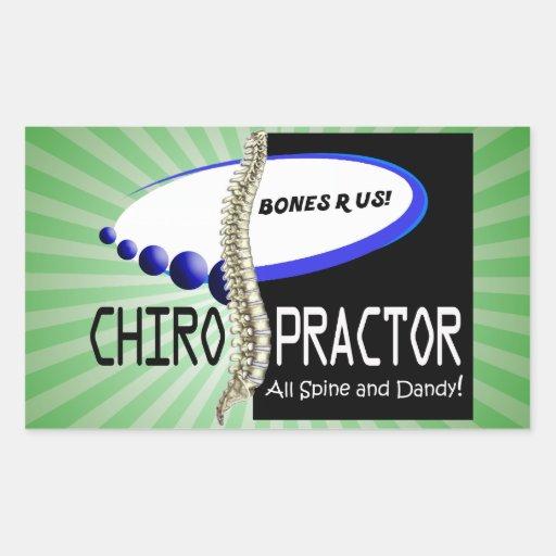 CHIROPRACTOR - ALL SPINE AND DANDY - BONES R US STICKER