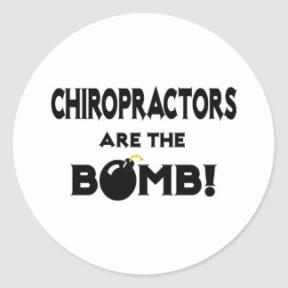 Chiropractors Are The Bomb! Sticker