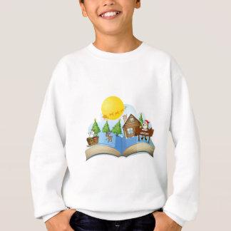 Chirstmas book sweatshirt