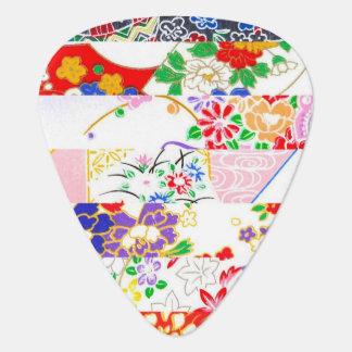 Chiyogami Rice Paper Pattern Designs Guitar Pick