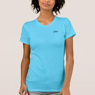 Chloe Costumized Turquoise Short Sleeve t-shirt