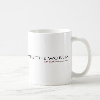 Chloe Magazine Dare to Change the World Mug