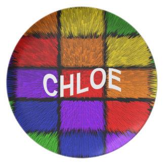 CHLOE PLATE