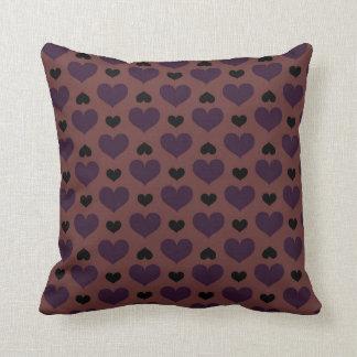Chocolade Hearts Cushions