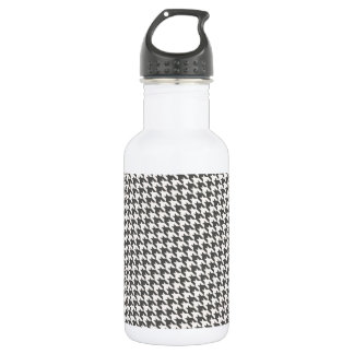 Chocolate Brown Houndstooth 532 Ml Water Bottle
